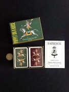 Carte Da Gioco Patience Playing Cards Puppet On A Horse 1985 Grimaud Vintage B4