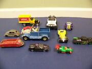 Lot Of Antique Metal Car Die Cast Toy Andmodern Cars-topper, Tootsietoy, Coca Cola