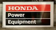 Awesome Original Honda Dealer Sign Will Customize If Wanted. See Pics.