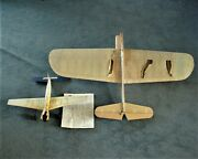 Control Line Model Planes 2 Balsa And Plastic 1960andrsquos N/r