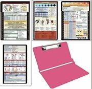 Aluminum Folding Clipboard, Nursing And Medical Clipboard, 2 In 1, Hipaa Privacy