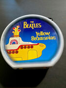 The Beatles Yellow Submarine Round Drum Shaped Collectable Lunch Box Tin