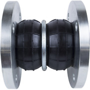 Double Bubble Sphere Type Rubber Expansion Joint Floating 150 Flanges