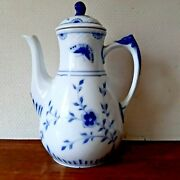 Old 1915 - 1948 Butterfly Coffee Pot Bing And Grondahl Royal Copenhagen Fact 1