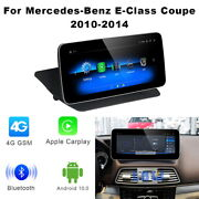 Android 10 Car Gps Navigation Unit Wireless Carplay Bt For Mercedes Benz E Coupe