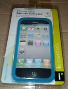 Iessentials Blue Silicone Gel Rubber Soft Skin Case For Iphone 4/4s Case 48