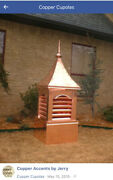 24andrdquocustom Copper Vented Cupola Barn And Roof Cupola