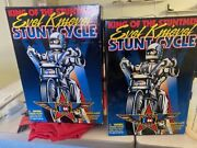 New In Box 1998 Evel Knievel Stunt Cycle-by Playing Mantis- King Of The Stuntmen