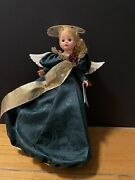 Madame Alexander Angel Of Grace 10and039and039 Doll 80140 Christmas Tree Topper Rare