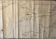 Antique Nautical Map Of The English Channel By R.h. Laurie