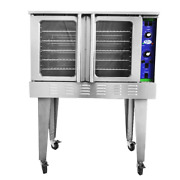 Single Deck 208v Commercial Electric Convection Oven Kf-coe-208 Free Shipping