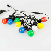 26/42.7ft Vintage Outdoor Patio String Led Globe Lights Colored Ball Connectable