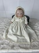 Antique Bye Lo Baby Doll German Bisque Doll 11 1/2 In Grace Story Putnam Doll