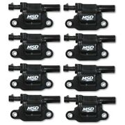 Msd 826683 Gen V Ignition Coil Blaster For 14-18 Gmc/chevy/cadillac - 8pc New