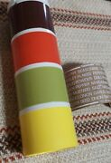 Vintage Tupperware Stacking Spice Shakers Set Of 4 With Labels