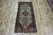 Old Handmade Persian Runner 142 X 60 Cm Hand Knotted Wool Rug