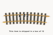 G Scale Piko Track R5 48.8 Radius Curved Solid Brass Track Item 35215