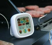 Digital Meat Cooking Thermometer Touchscreen 7 Preset Modes Temperature Gauge