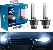 Philips Ultinon Hid Xenon D2s 6000k White Two Bulbs Head Light Replace Upgrade