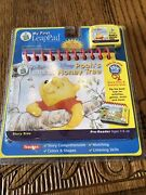 My First Leappad Leap Pad Disney Poohand039s Honey Tree Flip Book And Cartridge New