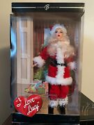 I Love Lucy - Santa Barbie Doll - The Christmas Show - K4558 2006 Mattel