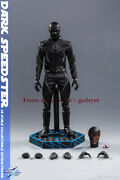 Soosootoys Ss-010 1/6 Dc Comics Villain Black Flash Action Figure In Stock New