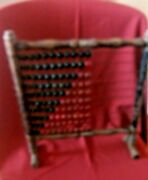 A Late 19th/early Twentieth Century Abacus With Green And Red Counters