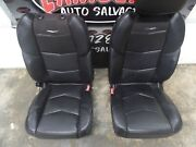 2015 Cadillac Escalade Front Bucket Seats Full Power In Black Leather.. Nice