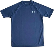 Under Armour Menandrsquos Ua Velocity 2.0 Short Sleeve T-shirt Navy Blue 1327965 408