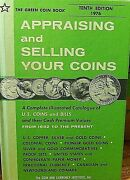 Appraising And Selling Your Coins 1976 The Green Coin Book 10 Th Ed 176 Pages