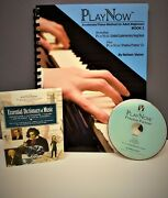 Adult Piano Lesson Books And Cds New