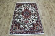 Old Handmade Persian Rug, Floral Design 157 X 100 Cm Hand Knotted Wool Rug
