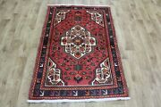 Old Handmade Persian Rug, Medallion Design 140 X 95 Cm Hand Knotted Wool Rug