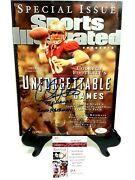 Chris Weinke Sports Illustrated Special Issue Unforgettable Games Nl H46201