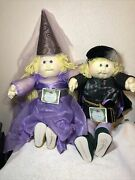 Cabbage Patch Soft Sculptured Doll 1987 Ed Charming And Sleeping Beauty