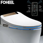 5 Colors Intelligent Toilet Seat Elongated Electric Bidet Cover Smart Bidet Wc