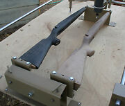 Gunstock Blank Carving Duplicator With Foot Controlled Automatic Turning