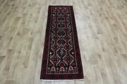 Old Persian Runner 185 X 60 Cm Hand Knotted Oriental Wool Rug