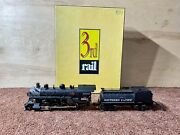 O Gauge 3rd Rail Division Southern Pacific Sunset Models 3 Rail 2-8-0 Pre-owned
