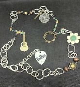 Lucky Brand Beatles Abbey Road Limited Edition Charm Necklace Rare Collectible