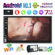 Android 10.1 Quad Core 7 Double 2din Gps Navi Wifi Car Stereo Mp5 Radio Player