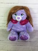 Build A Bear Disney Frozen 2 Anna With Cape Wig Sparkle Plush Stuffed Doll Toy