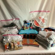 Thomas The Train Huge Lot Learning Curve Station Track Wood Chipper