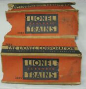 Lionel 2465 Used Box Onlyorange And Bluevery Poor Condition
