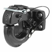 Curt 48215 Pintle Hook Hitch 30000 Lbs Fits 2-1/2 To 3-inch Lunette Ring New