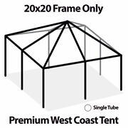20x20 West Coast Tent Frame Only Commercial Anodized Aluminum Replacement Frame