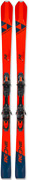 New Fischer Rc One 72 Downhill Skis And Rsx 12 Gw Powerrail Brake 85 Binding 177cm