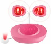 Multi-acupoint Irradiation Anti-sagging Breast Blue And Red Light Therapy Device