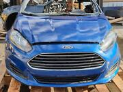 2014-2019 Ford Fiesta Complete Cooling Assembly Blue Fenders Headlights Bumper