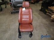 Passenger Front Seat Bucket Camel Leather Fits 13 Grand Cherokee Overland